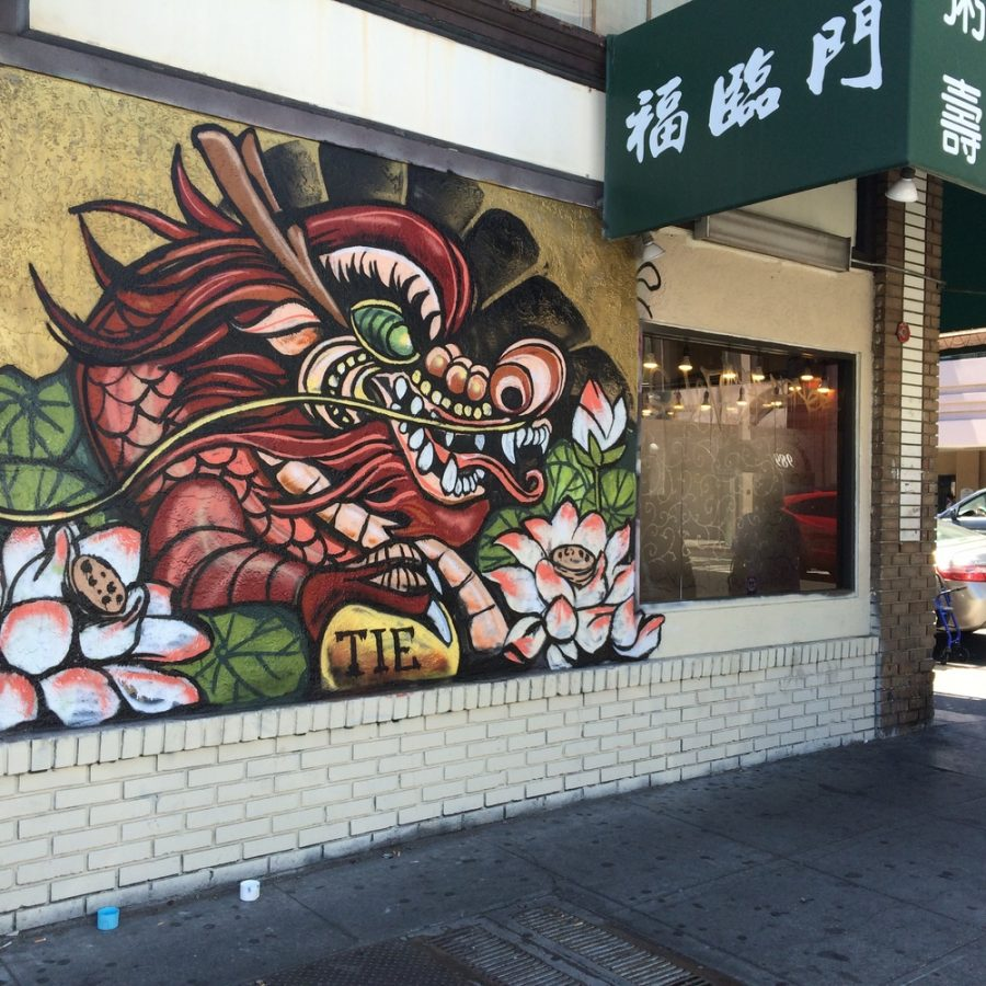 Oakland nonprofit beautifies Chinatown with golden dragons