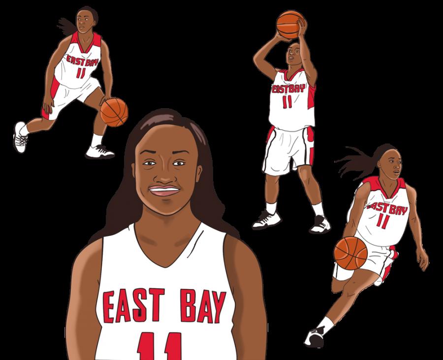 Shomari Harris: Cal State East Bay game changer