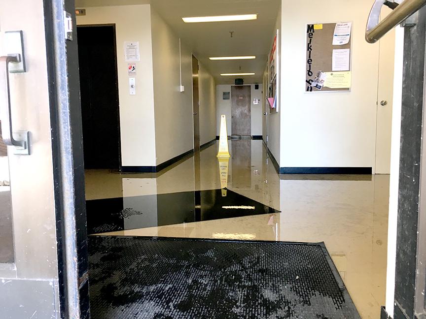 Sewage+flood+closes+first+floor+of+Meiklejohn