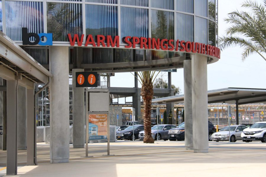 New+BART+station+opens+in+Fremont