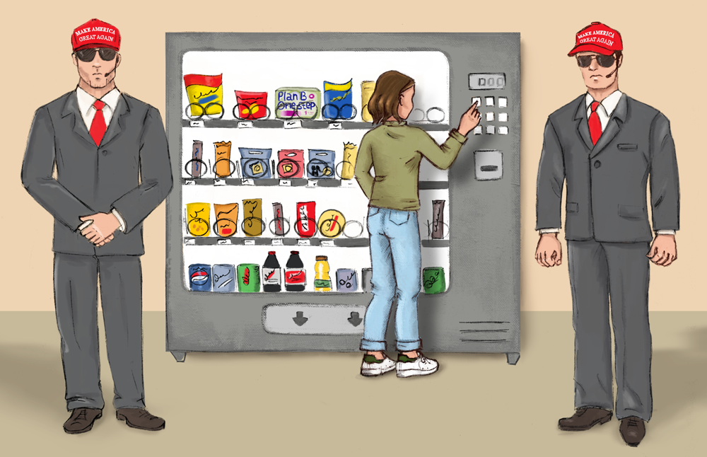 No+Plan+B+vending+machines+at+CSUEB