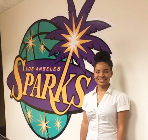 My internship with the Los Angeles Sparks
