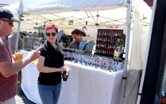 Alameda personified by art, wine