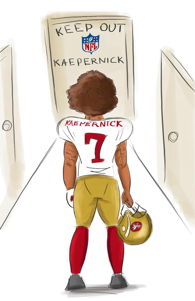 Colin Kaepernick: Remain yourself