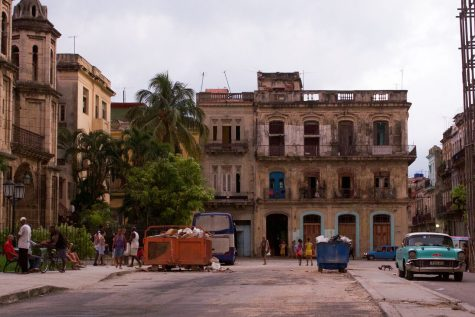 Working out in Havana