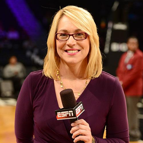 She got game: Doris Burke blazes trail for women sports analysts