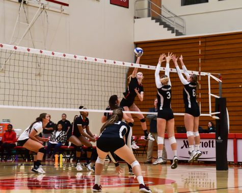 Volleyball ends regular season with victories