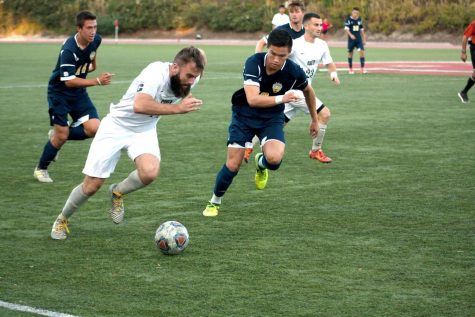 Men's soccer ends season on a good note