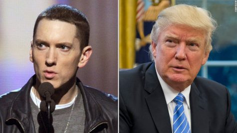 Eminem's take on president Trump