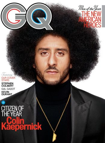 "The citizen we need is Colin Kaepernick, GQ's ""Citizen of the Year"""