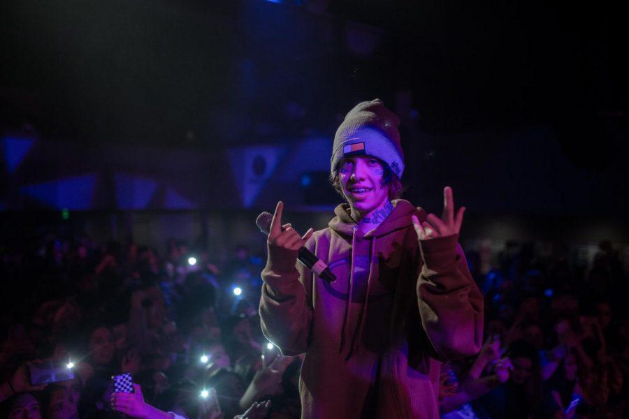 Pioneer Photography: Redlands rapper Lil Xan flows into Berkeley