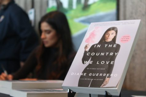 Diane Guerrero visits CSUEB and talks about her new book