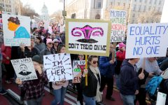 Women marched, women rallied