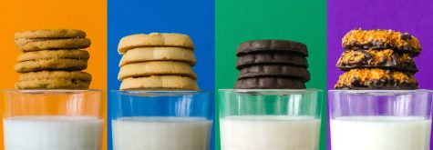 Girl Scout Cookies production divided by two bakeries