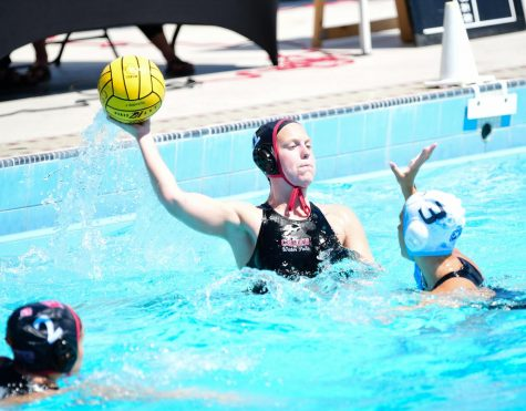 Women's water polo wins first home game of the season