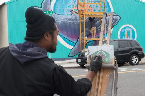 Local Artist Brings Urban Fine Art to the Bay Area