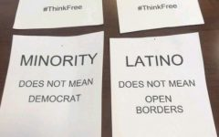 Ethnic studies department confronts controversial fliers