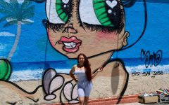 Artist paints dolls on Bay Area Walls