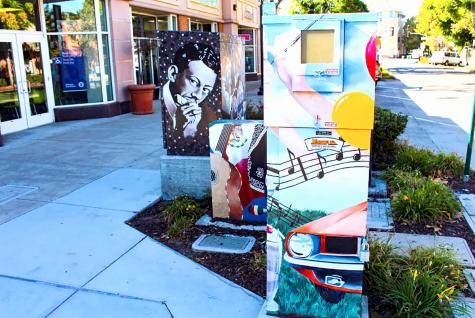 El muralista de Hayward embellece la ciudad