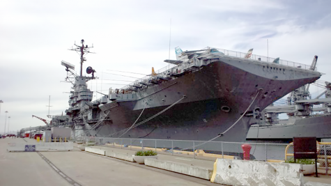 Researchers discover WWII carrier with ties to Bay Area