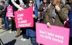 Trump defunding Planned Parenthood