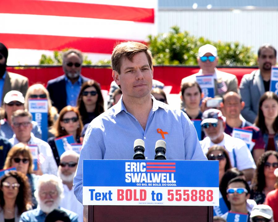 Eric+Swalwell+ends+presidential+bid