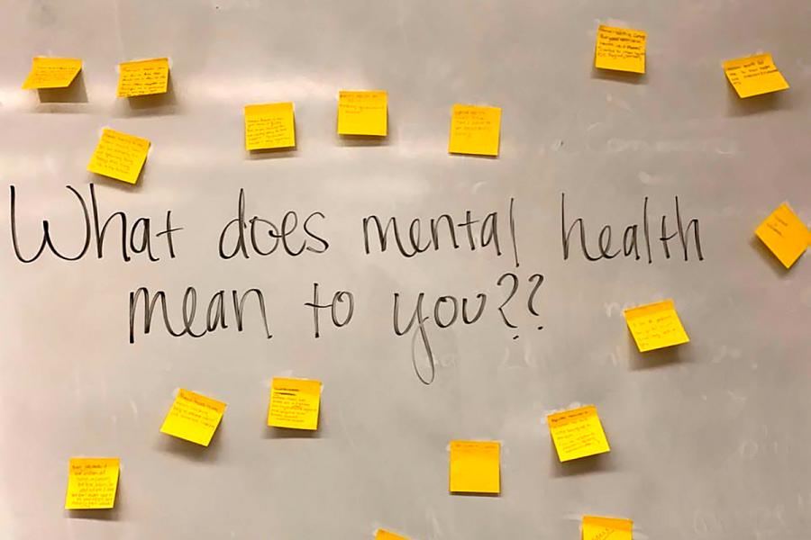 Organizations host mental health workshop