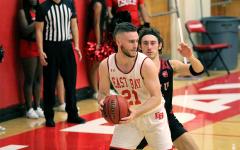 2019-2020 CSUEB Men's Basketball team