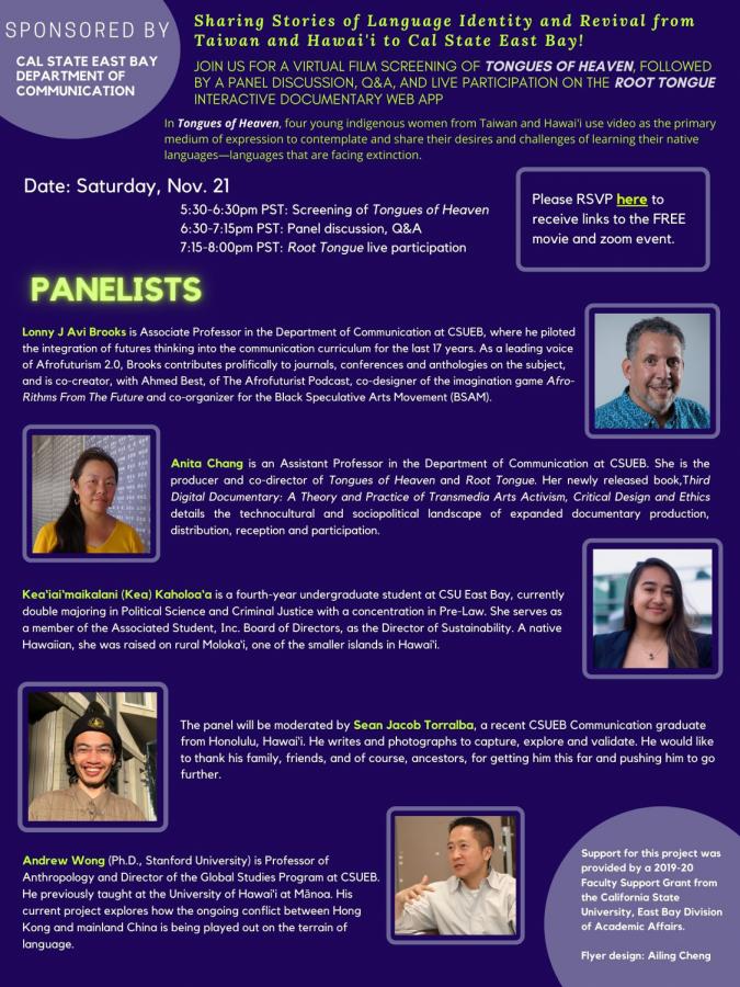 Sharing Stories of Language Identity and Revival at CSUEB