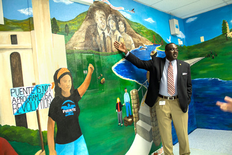 Mural celebrates Tennyson High's Puente  Program