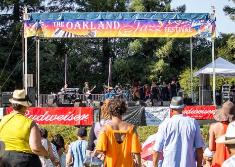 CSUEB Hosts The  Oakland Jazz Festival