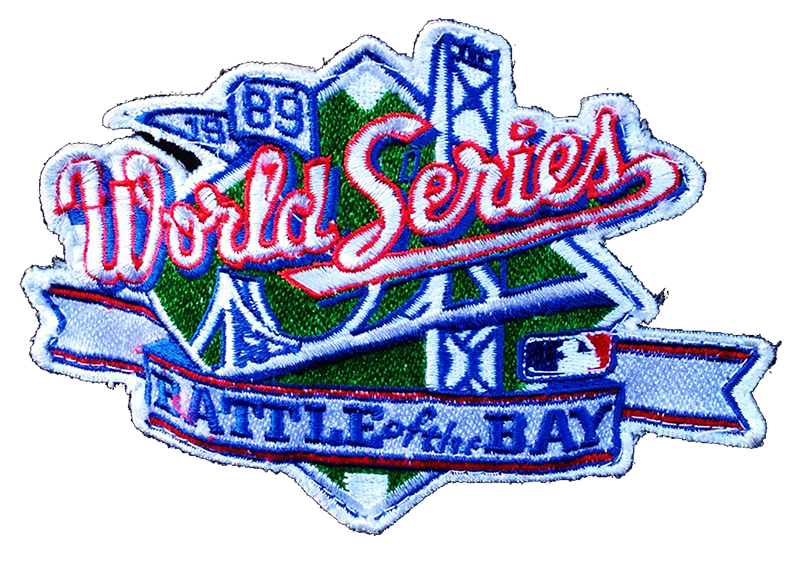 The+official+logo+for+the+1989+World+Series+between+the+Oakland+Athletics+and+San+Francisco+Giants.