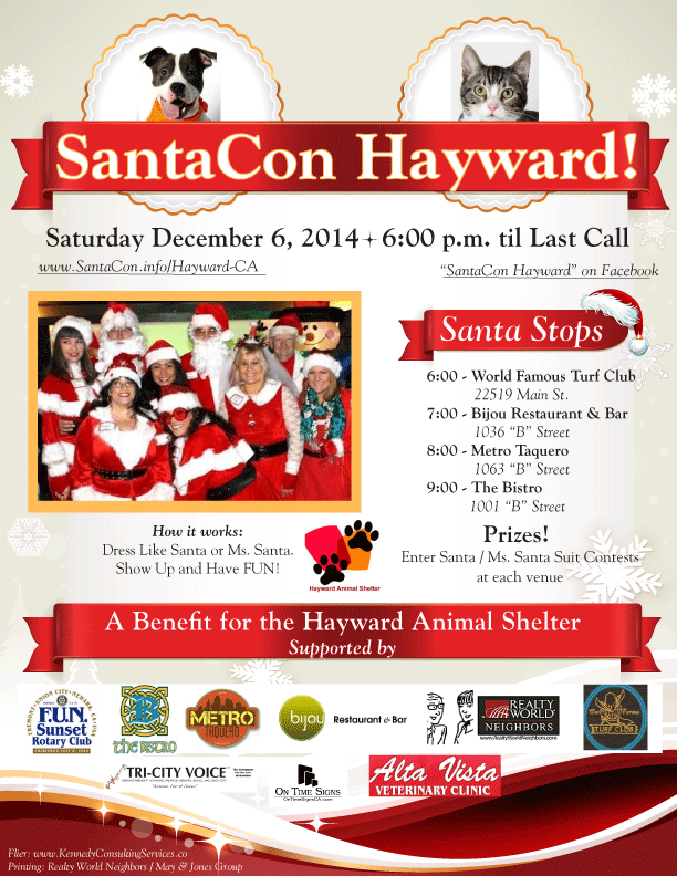 Santa Claus convention saves animals