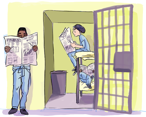 Journalism locked behind state prison bars