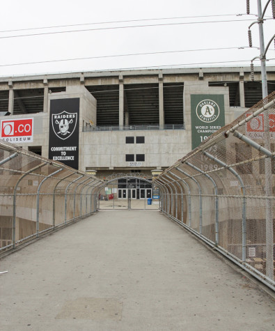 Silver and black explore Carson stadium