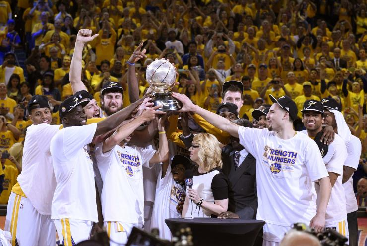 Warriors golden in championship win