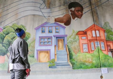 Oakland mourns slain artist