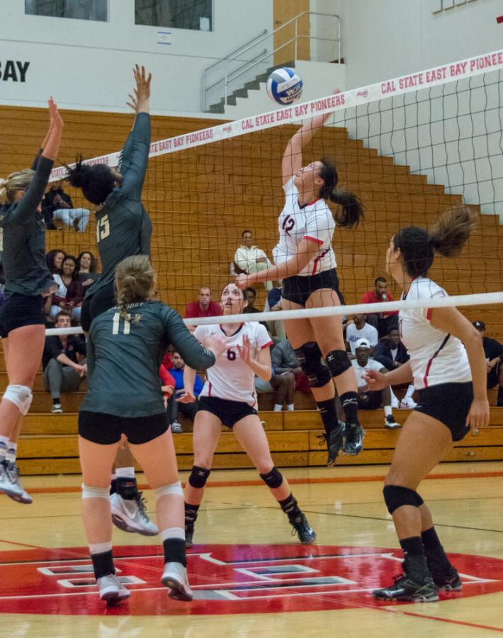 Volleyball survives thriller in Hayward