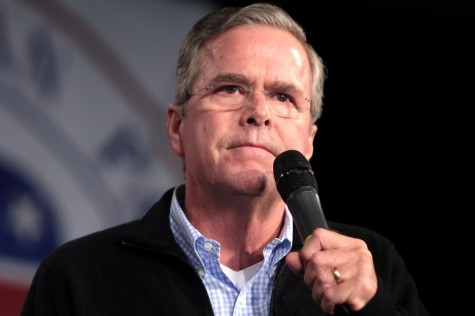 Jeb's out and Trump triumphs