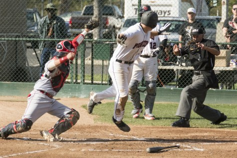 Baseball team goes 2-2 in weekend series