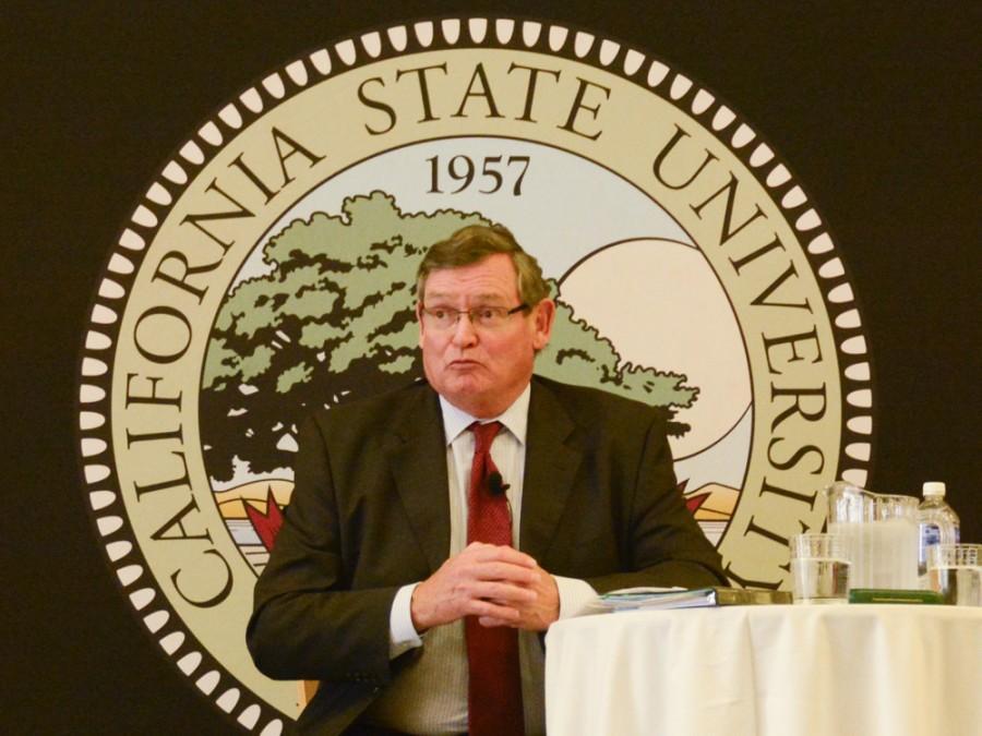 CSU Chancellor receives icy reception