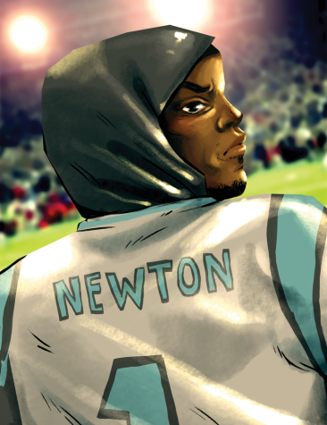 Back off of QB  Cam Newton