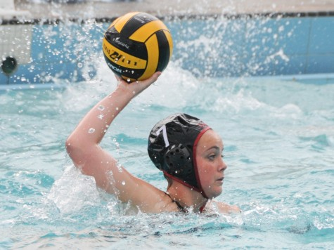 Water polo splits home doubleheader