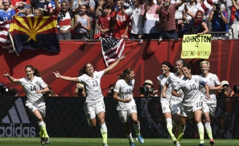 Women's U.S.  soccer struggles to  break ground