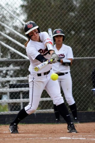 Softball splits doubleheader with Cougars