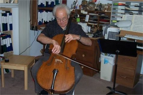 Music professor honored with concert