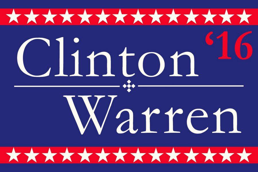 Warren best fit for Clinton