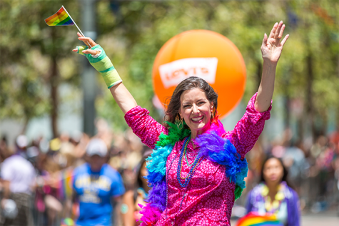 Oakland Pride to close out the summer