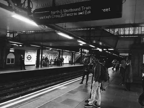 Getting lost in the underground tube station confirms my thoughts that it's not so much about your destination, it's about the journey.