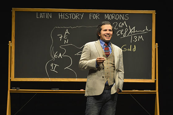 """Actor John Leguizamo teaches Latin History to """"Morons"""""""